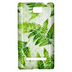 Fern Leaves HTC 8S Hardshell Case