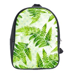 Fern Leaves School Bags (xl)