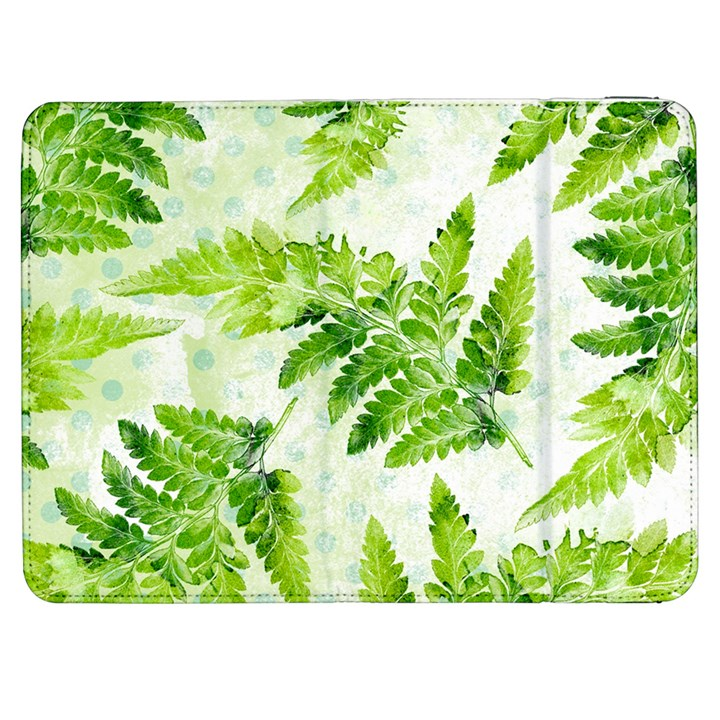 Fern Leaves Samsung Galaxy Tab 7  P1000 Flip Case