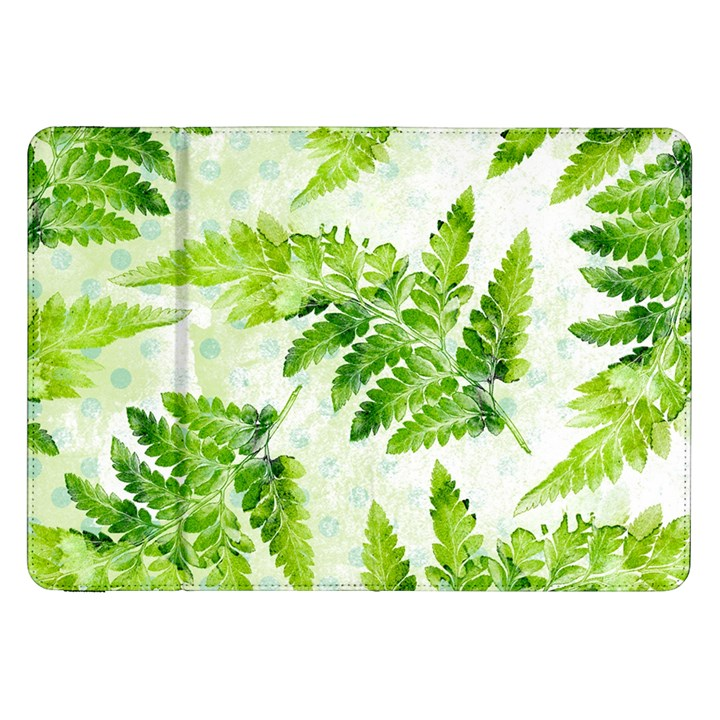 Fern Leaves Samsung Galaxy Tab 8.9  P7300 Flip Case
