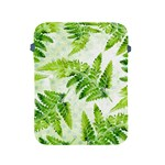 Fern Leaves Apple iPad 2/3/4 Protective Soft Cases Front