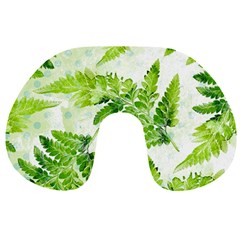 Fern Leaves Travel Neck Pillows