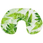Fern Leaves Travel Neck Pillows Front