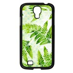 Fern Leaves Samsung Galaxy S4 I9500/ I9505 Case (Black) Front