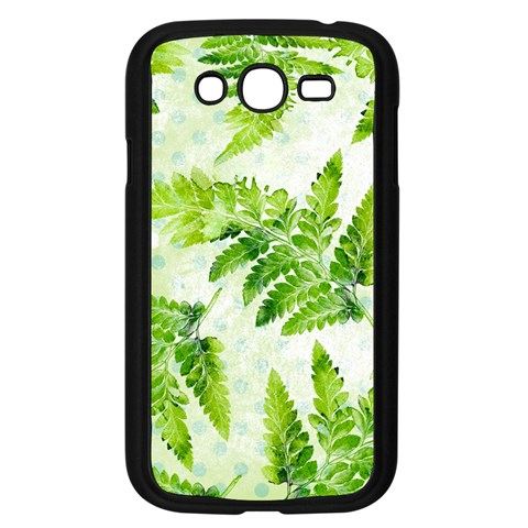 Fern Leaves Samsung Galaxy Grand DUOS I9082 Case (Black)