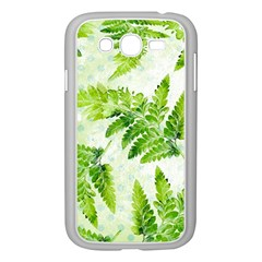 Fern Leaves Samsung Galaxy Grand Duos I9082 Case (white)