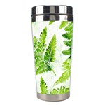Fern Leaves Stainless Steel Travel Tumblers Right