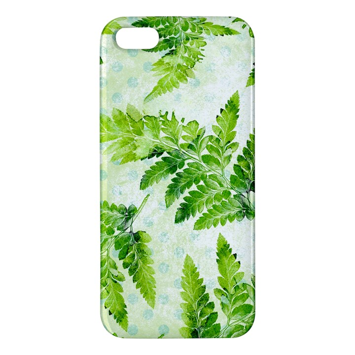 Fern Leaves iPhone 5S/ SE Premium Hardshell Case