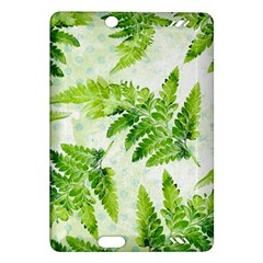 Fern Leaves Amazon Kindle Fire HD (2013) Hardshell Case