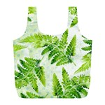 Fern Leaves Full Print Recycle Bags (L)  Front