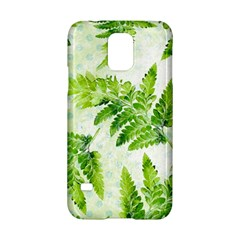 Fern Leaves Samsung Galaxy S5 Hardshell Case