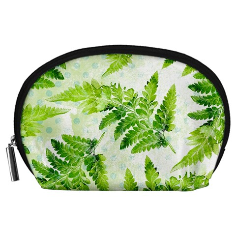 Fern Leaves Accessory Pouches (Large)