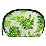 Fern Leaves Accessory Pouches (Large)  Front
