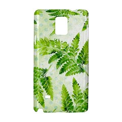 Fern Leaves Samsung Galaxy Note 4 Hardshell Case