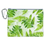 Fern Leaves Canvas Cosmetic Bag (XXL) Front