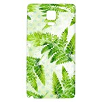 Fern Leaves Galaxy Note 4 Back Case Front