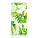 Fern Leaves Samsung Galaxy Alpha Hardshell Back Case Front