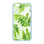 Fern Leaves Apple Seamless iPhone 6/6S Case (Color) Front