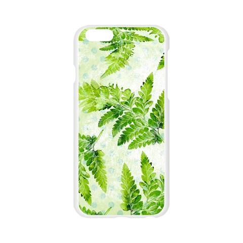 Fern Leaves Apple Seamless iPhone 6/6S Case (Transparent)