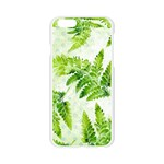 Fern Leaves Apple Seamless iPhone 6/6S Case (Transparent) Front