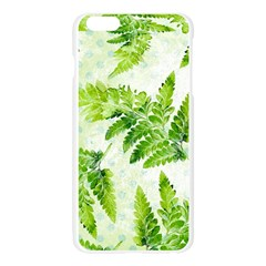 Fern Leaves Apple Seamless iPhone 6 Plus/6S Plus Case (Transparent)