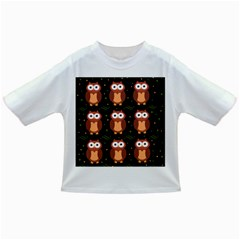 Halloween Brown Owls  Infant/toddler T Shirts