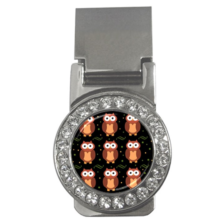 Halloween brown owls  Money Clips (CZ)
