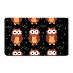 Halloween brown owls  Magnet (Rectangular) Front