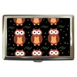 Halloween brown owls  Cigarette Money Cases Front