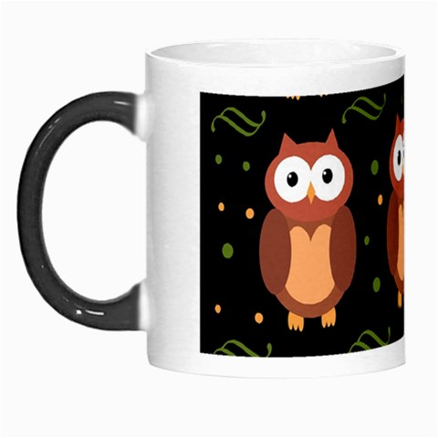 Halloween brown owls  Morph Mugs