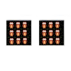 Halloween brown owls  Cufflinks (Square)