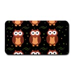 Halloween brown owls  Medium Bar Mats 16 x8.5 Bar Mat - 1
