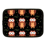 Halloween brown owls  Netbook Case (Medium)  Front