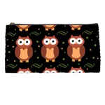 Halloween brown owls  Pencil Cases Front