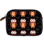 Halloween brown owls  Digital Camera Cases Front
