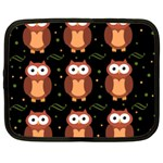 Halloween brown owls  Netbook Case (XXL)  Front