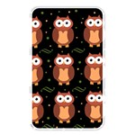 Halloween brown owls  Memory Card Reader Front