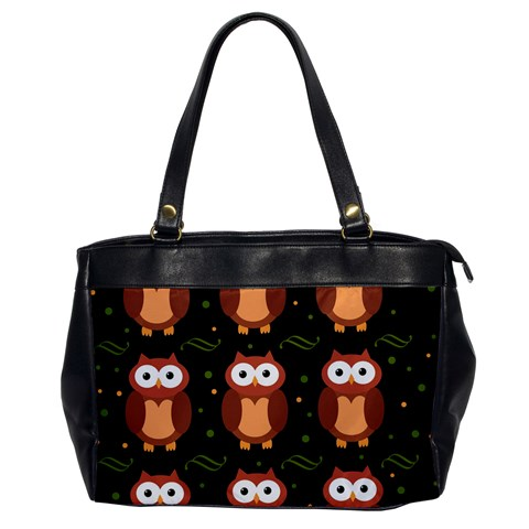 Halloween brown owls  Office Handbags
