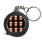 Halloween brown owls  Measuring Tapes Front