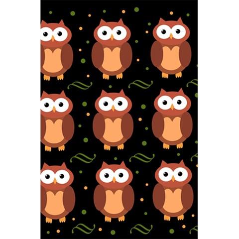 Halloween brown owls  5.5  x 8.5  Notebooks