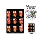 Halloween brown owls  Playing Cards 54 (Mini)  Front - Joker2