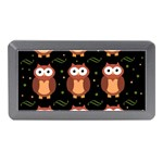Halloween brown owls  Memory Card Reader (Mini) Front