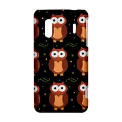 Halloween brown owls  HTC Evo Design 4G/ Hero S Hardshell Case