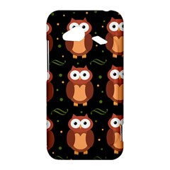 Halloween brown owls  HTC Droid Incredible 4G LTE Hardshell Case