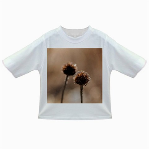 Withered Globe Thistle In Autumn Macro Infant/Toddler T-Shirts