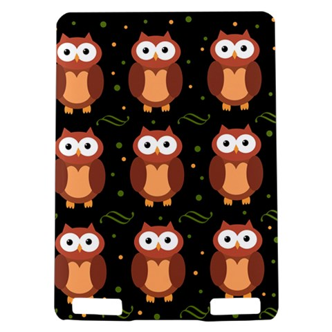 Halloween brown owls  Kindle Touch 3G