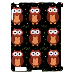 Halloween brown owls  Apple iPad 2 Hardshell Case (Compatible with Smart Cover)