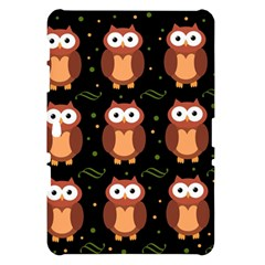 Halloween brown owls  Samsung Galaxy Tab 10.1  P7500 Hardshell Case