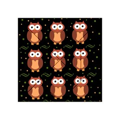 Halloween Brown Owls  Acrylic Tangram Puzzle (4  X 4 )