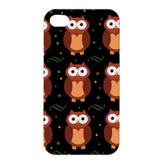 Halloween brown owls  Apple iPhone 4/4S Premium Hardshell Case